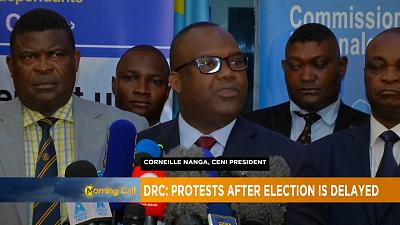Tension as DRC election gets postponed to Dec 30 [The Morning Call]