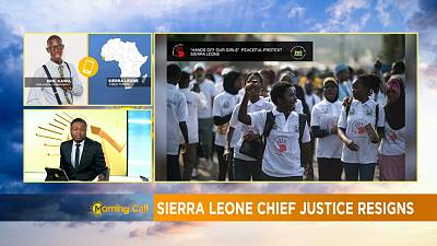 Was Sierra Leone's chief justice forced to resign? [The Morning Call]
