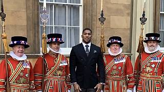 Boxer Anthony Joshua awarded OBE, Order of the British Empire