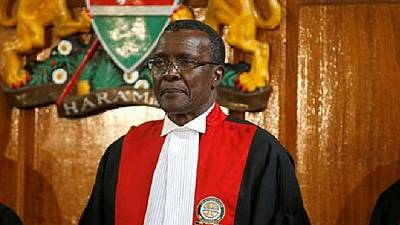 Kenya's Chief Justice hospitalized after car crash