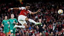 Aubameyang, Iwobi score as Arsenal ends losing streak