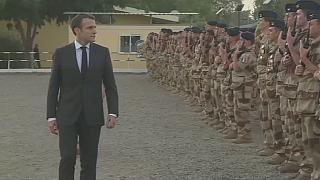 Macron praises French troops in Sahel region