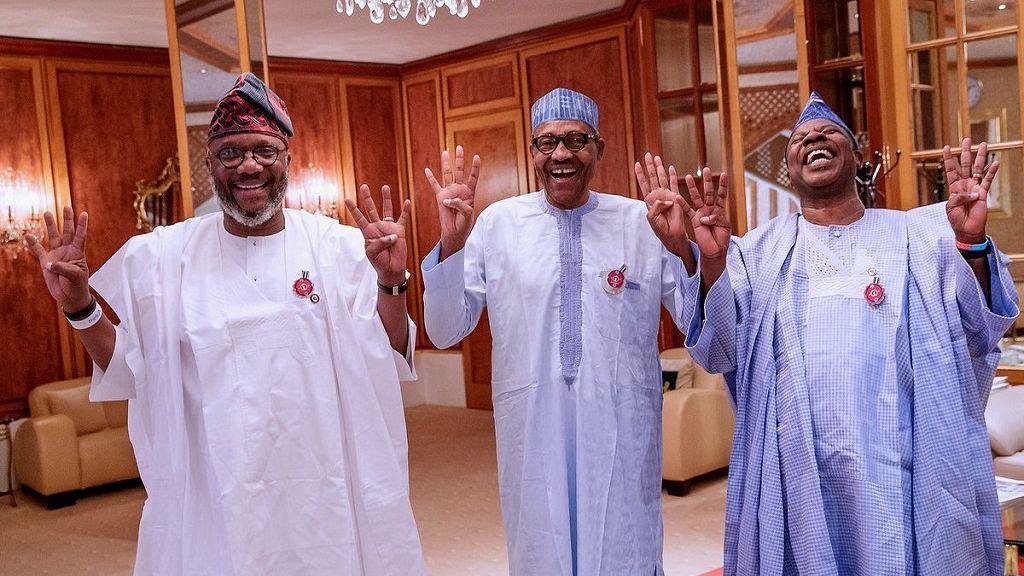 Image result for four plus four buhari