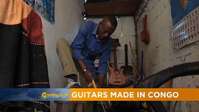 Guitars produced by Congolese craftsmen [The Morning Call]