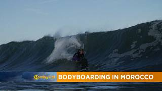 Bodyboarding in Morocco [The Morning Call]