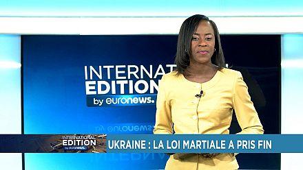 Ukraine: la loi martiale a pris fin [International Edition]