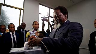 Kabila and Ramazani cast vote in Kinshasa
