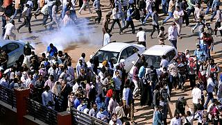 "Sudan's al-Bashir tells police to use ""less force"" on anti-government demonstrators."