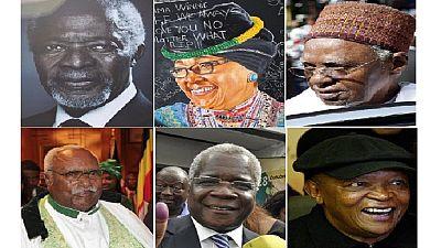 African deaths in 2018: Annan, Tsvangirai, Masekela, Shagari et al.