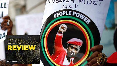 Uganda's Bobi Wine is 2018 Africanews Personality of the Year