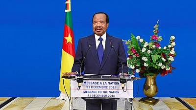 Cameroon president ready for dialogue over Anglophone crisis