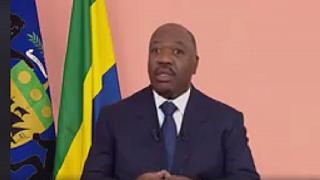 'I am now fine': Ali Bongo tells Gabonese in New Year message