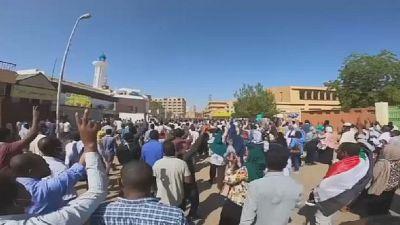 Soudan : Les forces de l'ordre empêchent les manifestants de se diriger vers la présidence