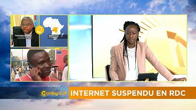 Internet suspendu en RDC [Morning part 1]
