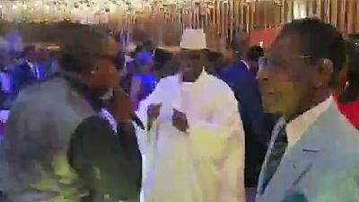 Jammeh, Nguema dance as Olomide sings at Equatorial Guinea bash
