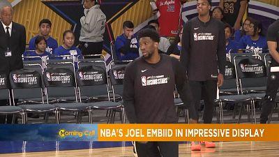 NBA: Joel Embid's impressive debut season performance [The Morning Call]