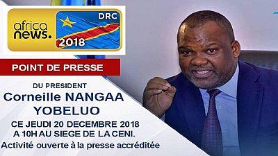Élections en RDC: le président de la commission électorale aurait voulu démissionner