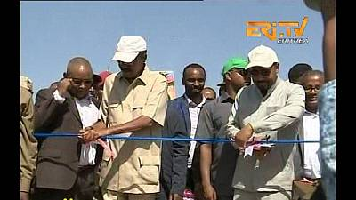 Ethiopia-Eritrea officially open border crossing point