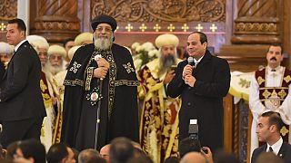Égypte : le président Sissi inaugure la plus grande cathédrale du Moyen-Orient