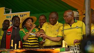 South Africa: Zuma, Ramaphosa rally together ahead of May elections