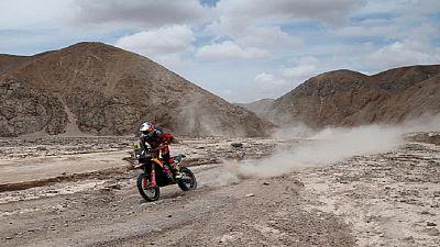 Dakar-2019/Motos: de Soultrait premier sur la ligne, Sunderland potentiel vainqueur