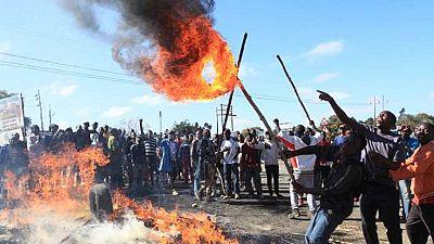 Zimbabwe : manifestations contre la hausse des prix du pétrole