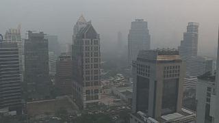 Thai officials plan to use artificial rains to drive out air pollution