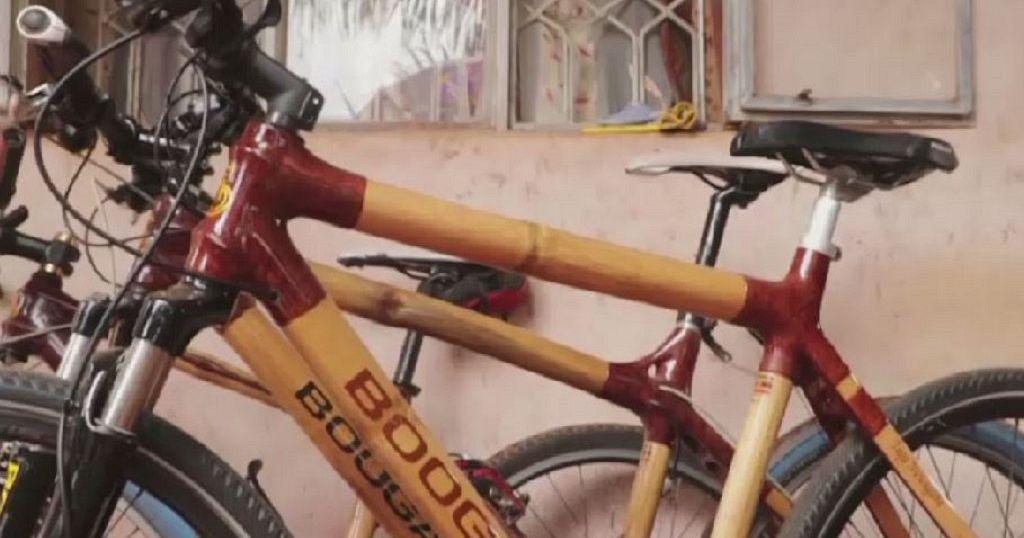 7c2b9b95c08 Ugandan entrepreneur makes bicycles from bamboo | Africanews