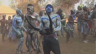 """Cameroun : le festival """"Nyan Nyan"""" ou l'art de la guerre chez les Bafoussam d'autrefois"""