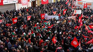 Nationwide strike by Tunisia's public sector workers