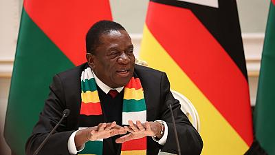 Zimbabwean president cancels Davos Forum to deal with crisis