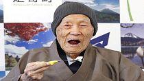 Décès de la personne la plus âgée du monde (113 ans)