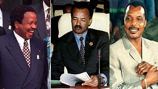 African presidents #10YearChallenge: Biya, Afwerki, Nguema et. al.