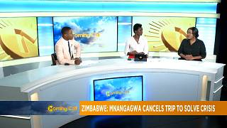 Zimbabwe's presidency issues warning to protesters [The Morning Call]
