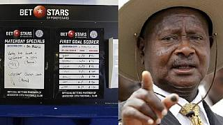 Uganda president orders ban on sports betting