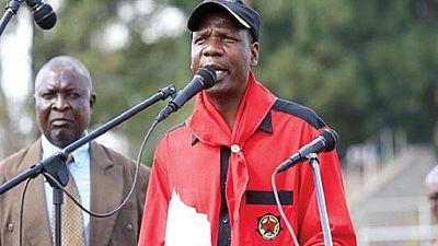 Zimbabwe union leader arrested
