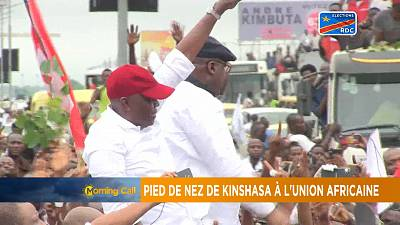 DRC's inauguration of Felix Tshisekedi postponed [The Morning Call]