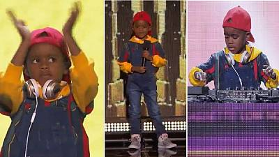 6-year-old South African DJ wows at America's Got Talent show