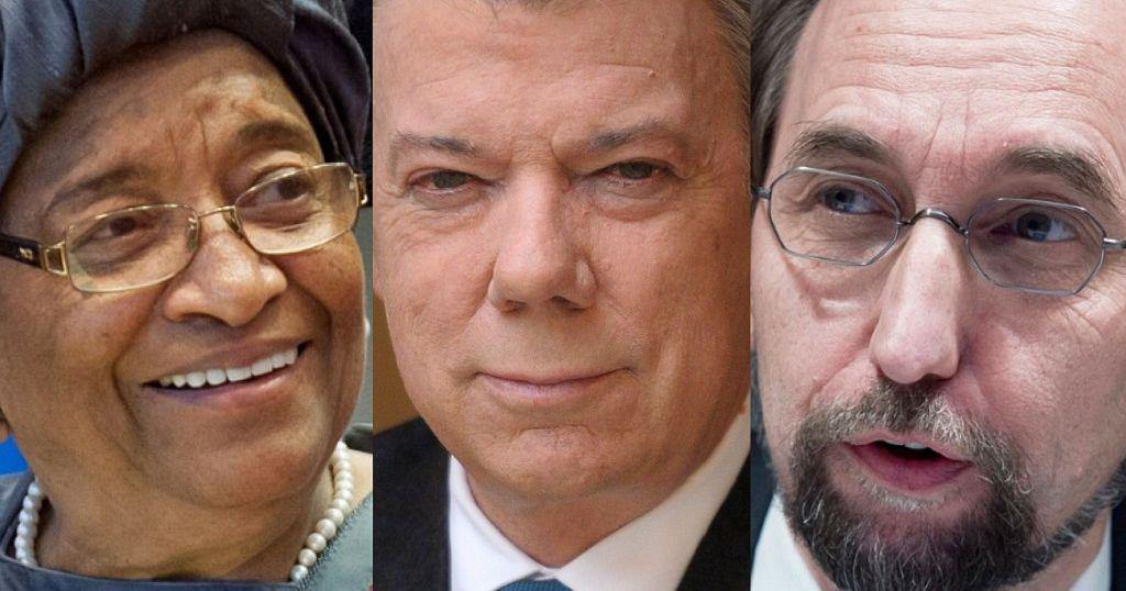 Liberia's ex-president Sirleaf joins The Elders