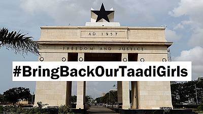 Ghana starts #BringBackOurTaadiGirls after Nigerian 'abducts' women