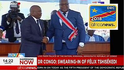 RDC : Fin de la cérémonie d'investiture de Félix Tshisekedi