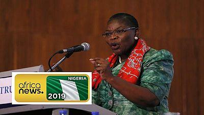 La principale femme candidate se retire de la présidentielle au Nigeria