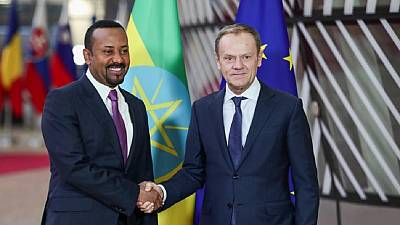 Ethiopia PM in Brussels, holds meetings with top EU officials