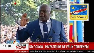 RDC : Félix Tshisekedi a prêté serment comme président de la République