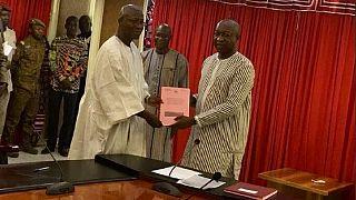 Burkina : un nouveau gouvernement ; objectifs sécurité et bien-être social