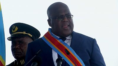 Felix Tshisekedi taken ill during swearing-in ceremony, Uhuru only other president present