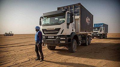 Mali : deux Casques bleus tués par une mine dans le centre du pays