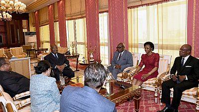 Gabon : un timbre à l'effigie de la présidente de la Cour constitutionnelle