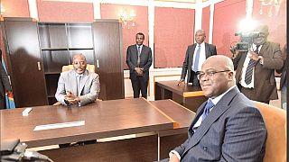 RDC : Kabila fait ses adieux au palais présidentiel