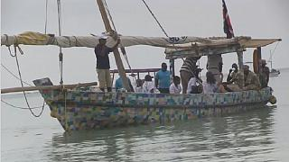Kenya plastic boat raises pollution awareness